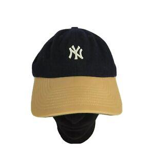 47-Brand-New-York-Yankees-MLB-Navy-Blue-Throwback-Strapback-Baseball-Hat-Cap-OS