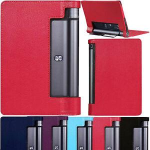 Cuero-Fino-Smart-Funda-Para-Lenovo-Yoga-Tab-3-10-1-034-Pulgadas-Tableta-YT3-X50F