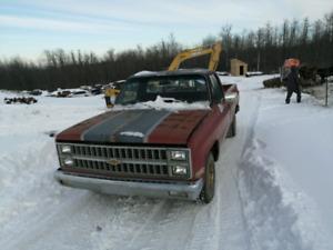 1982 Chevrolet Silverado 1/2 Ton