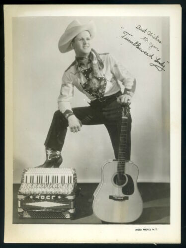 1940s-TUMBLEWEED-LUDY-5x7-Publicity-Photo-Hillbilly-Country-Western-Artist