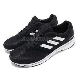 e1cdbbd4f28 adidas Adizero Adios 4 M Boost Black White Men Running Shoes ...