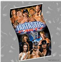 Wrestling Wwf Party Supplies Banner Birthday Poster Undertaken Aaa Decoration Nw