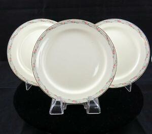 TAYLOR-SMITH-TAYLOR-TST257-3-PC-ROSE-BORDER-6-1-4-034-BREAD-AND-BUTTER-PLATES