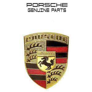 GENUINE-Porsche-911-Front-Emblem-PORSCHE-Crest