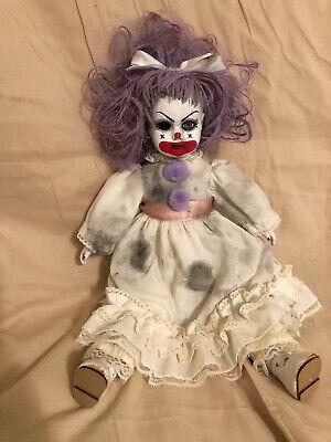 Creepy Scary Porcelain Horror Doll Clown
