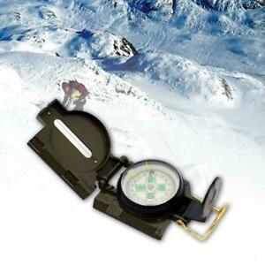 Folding Lens Compass Military Boat Dash Panel Navigation Mount R4U9
