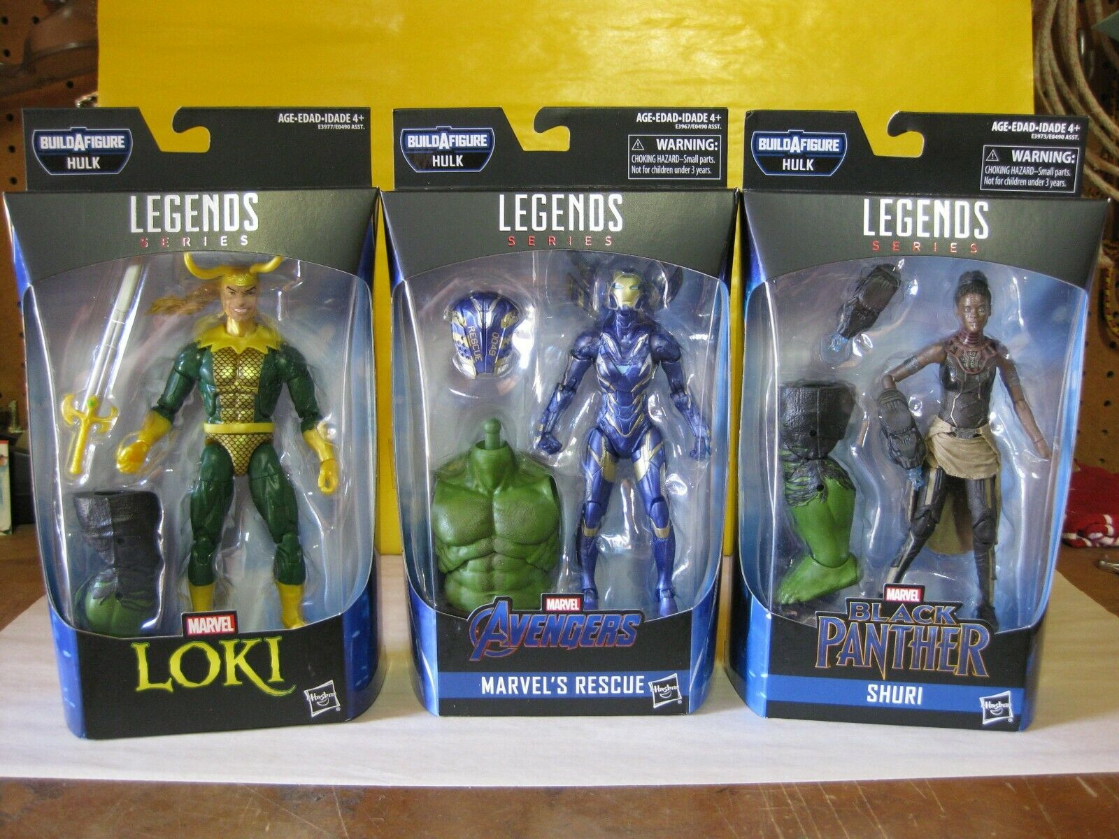 2018 Marvel Legends 6  Avengers Endgioco Smart  Hulk BAF Set Of 6 nuovo MIP  presa di marca