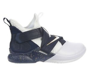 c78650398c2 Nike Lebron Soldier 12 SFG Witness Mens AO4054-100 White Navy Shoes ...