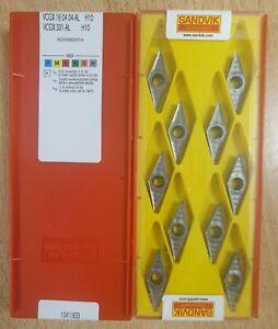 QD-NG 0300-0003-CR 1135 Carbide Inserts Sandvik The listing is for 1 box 10x pcs