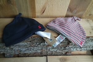BNWT-Joules-Baby-Age-6-9-Months-Navy-Mix-Pack-Of-2-Jersey-Hats