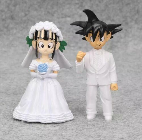 Dragon ball DRAGONBALL PERSONAGGI SET ANIME MANGA Son Goku Chichi MATRIMONIO WEDDING