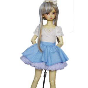 PF 05# Black Dot Skirt Clothes 1//3 SD DZ BJD Doll Dollfie Dress