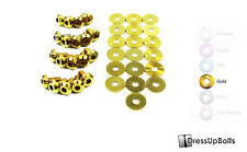 Dress Up Bolts for 00-09 S2000 Gold Ti Titanium Partial Engine Bay Kit