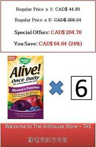 60-T-Alive-Once-Daily-Women-039-s-Green-Tea-Extract-Multi-Vitamin-Nature-039-s-Way