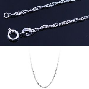1PC-16-034-18-034-Fashion-Elegant-Necklace-Water-Wave-Chain-Hot-Selling-Nice-Pr-Gift