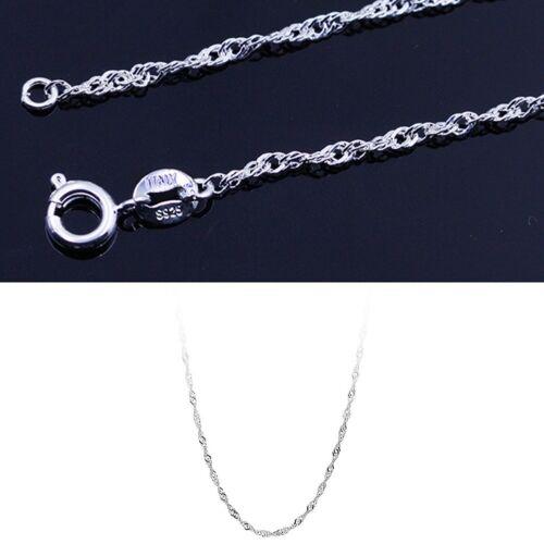 1 STÜCK 16 /'// 18/' Mode Elegant Halskette Wasser Welle Kette Heißer Verkauf C5R4