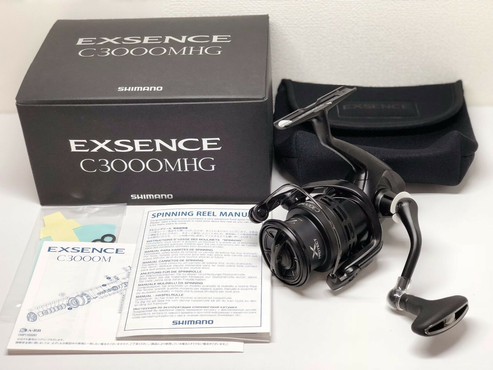 SHIMANO 17 EXSENCE C3000MHG   - Free Shipping from Japan