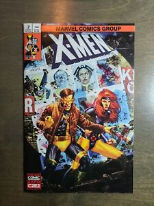 X-MEN-7-NM-MT-JAY-ANACLETO-EXCLUSIVE-C2E2-VARIANT-COMIC-BOOK-Marvel-Comics