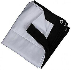 Taotaole Blackout Cloth, 16:9 100 Inches DIY Portable ...