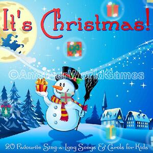 KIDS-CHRISTMAS-CAROLS-SING-ALONG-MUSIC-CD-20-CAROL-SONGS-CHILDREN-XMAS-PARTY