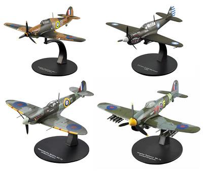 Set von 2 Flugzeuge Hawker Typhoon+Focke Wulf  WW2 1:72 DeAgostini Militär LAC41
