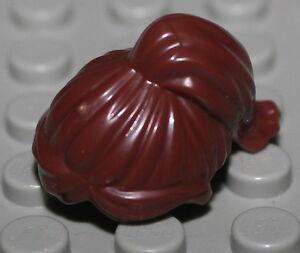 Lego Star Wars Reddish Brown Leia Hair w// 2 Buns NEW