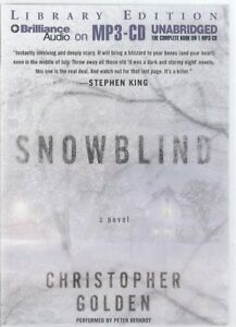 Christopher-Golden-Snowblind-MP3-CD-Audio-Book-Unabridged-Ghost-Story-FASTPOST