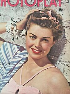 Vintage-Collectible-Movie-Magazine-Photoplay-Esther-Williams-Cover-July-1946