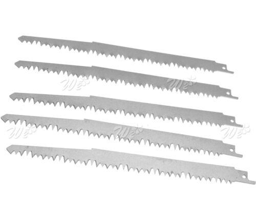 5pcs High Carbon Steel Reciprocating Saw Blades 240mm Sabre For Makita