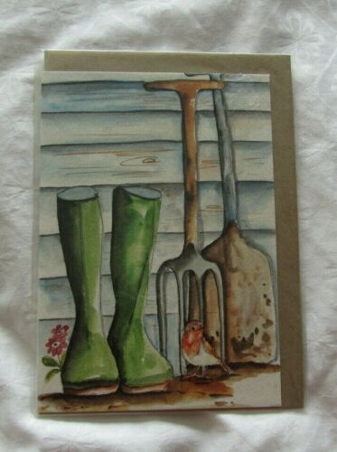 A 6 size Greeting Cards prints of original artwork by Cath Ward