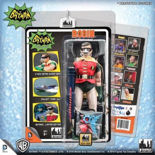 """Deluxe Robin Breather Variant Batman 1966 66 Classic TV Series 8/"""" action figure"""