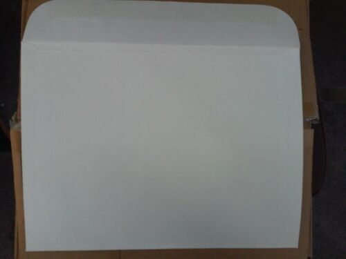 Open Side - New Old Stock 9 x 12 Booklet Envelope 500 pieces per box