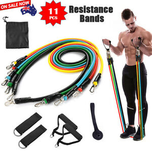SYDNEY-stock-11Pcs-Set-Resistance-Bands-Elastic-Tubes-Home-Gym-Fitness-Yoga