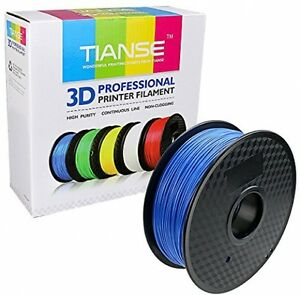 3D PLA Printer Filament Dimensional Accuracy 1KG 1.75mm Blue Pound Spool 2.2 New