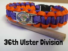 36th Ulster Division/UVF  Paracord Wristband