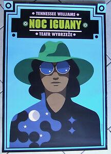 The Night of the Iguana - Williams Tennessee - Polish Poster - Hibner - polska, Polska - The Night of the Iguana - Williams Tennessee - Polish Poster - Hibner - polska, Polska