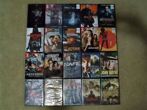 New-DVD-Lot-20-Sealed-DVDs-Over-70-Movies-Total-Norris-Lamas-Statham-Etc