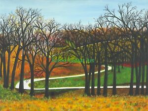 Colorful-Country-Road-by-Kenny-CoStar-Art