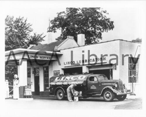 1937 Studebaker J20 Tanker Truck Linco - Ohio Oil Factory Photo Ref. #77974