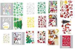 Christmas-Holiday-Season-Instant-Art-Home-Decor-Wall-Sticker-Decal-Sheet