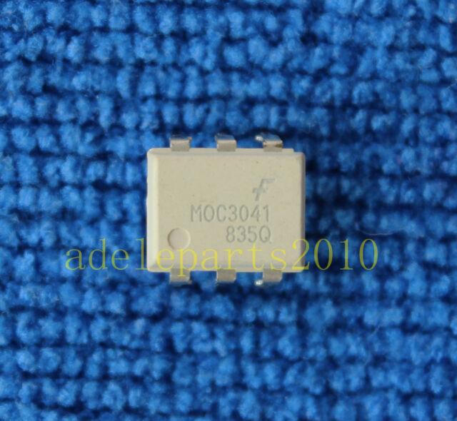 5pcs MOC3041 FSC OPTOCOUPLERS DIP-6