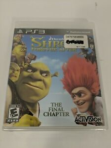 Shrek Forever After: The Final Chapter (Sony PlayStation 3, 2010) Brand New