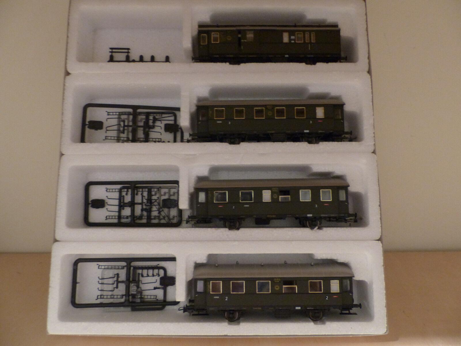 Sachsenmodelle 14025 , Einheitsnebenbahnwagenset der DRG, Spur H0    | Bestellungen Sind Willkommen  b2de48