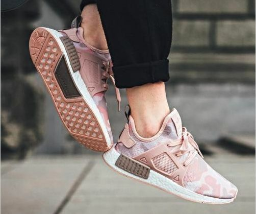 Adidas Original NMD_XR1 W Duck Camo Pink White Women BA7753 AUTHENTIC