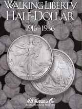 Walking Liberty Half Dollar Coin Folder Album #1, 1916-1936 by H.E. Harris