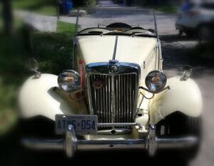 1952 MG T-Series MG TD Roadster