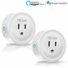WiFi Smart Plug Outlet Socket Works With Amazon Echo Alexa No Hub Required