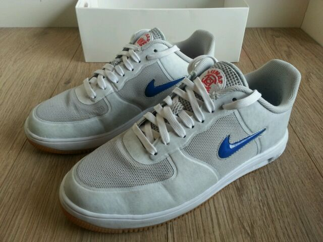 newest 5659a 7a3c2 Nike Lunar Force 1 Fuse SP CLOT Trainers UK 7.5 EU 42 Men Used White 717303