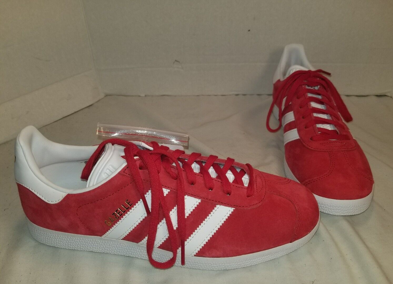 Nuovi uomini  adidas red gazzella university red adidas scamosciato scarpe noi 8,5 ec1838