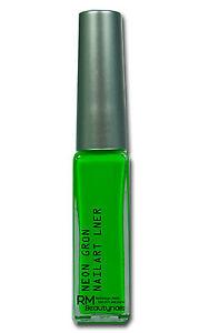 Neon-Gruen-Fineliner-Nailart-Liner-mit-extra-langem-Pinsel-8ml-00731-07